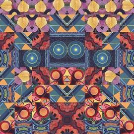 Helena Tiainen - The Joy of Design Mandala Series Puzzle 5 Arrangement 4