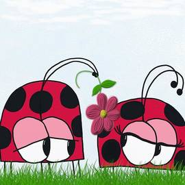 Michelle Brenmark - The Ladybug Wooing His New Love