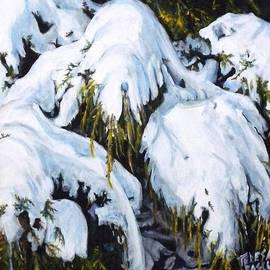 Teresa  Pascos - The Last Snowfall