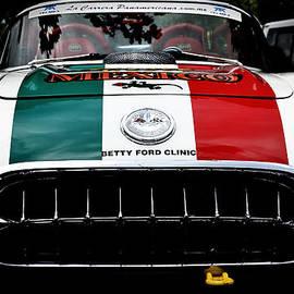 Rene Ranachilanga Ortega - The Leningrad Cowboys 58 Corvette - La Carrera Panamericana 2009