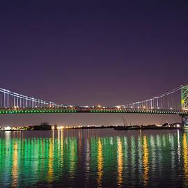 Bill Cannon - The Lighted Ben Franklin Bridge