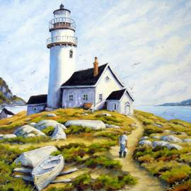 Richard T Pranke - The Lighthouse Keeper