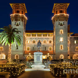 Dawna  Moore Photography - The Lightner Museum at Twilight St. Augustine Florida