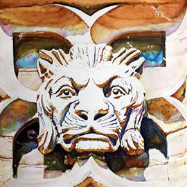 Christiane Kingsley - The Lion King  Stone Carving on Canadian Parliament Building