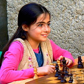 France  Art - The Little Chess Player