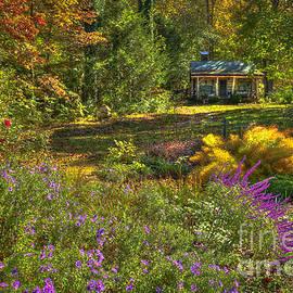 Reid Callaway - The Log Cabin Flower Beds Brevard NC