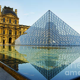 MaryJane Armstrong - The Louvre at Dawn