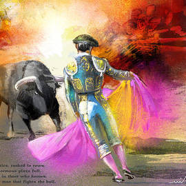 Miki De Goodaboom - The Man Who Fights The Bull