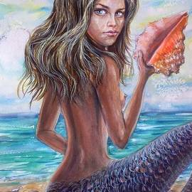 Katerina Kovatcheva - The mermaid with a conch shell