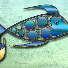 Richard Shelton - The metal Aquarium #1