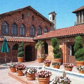 Glenn McCarthy Art and Photography - The Mission Inn Hotel - Presidential Suite Court