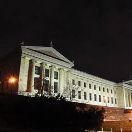 Bill Cannon - The Museum of Art in Philadelphia Riverside View