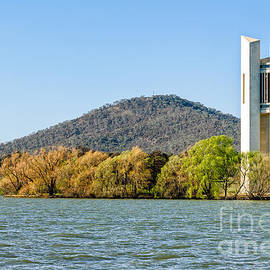 David Hill - The National Carillon and Lake Burley Griffin - Canberra - Australia