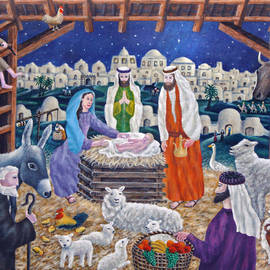 Ronald Haber - The Nativity