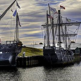 John Straton - The Nina and Pinta  Columbus Replica Ships