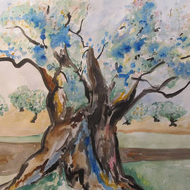 Esther Newman-Cohen - The Old Olive Tree