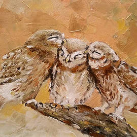 Violeta Oprea - The owl family