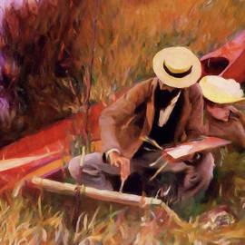 Georgiana Romanovna - The Painter And His Love - Dedication