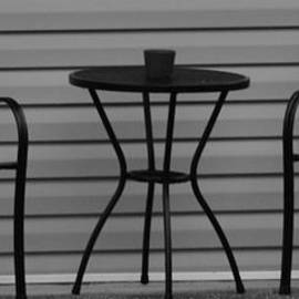 Rob Hans - THE PATIO in BLACK AND WHITE