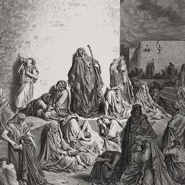 Gustave Dore - The People Mourning over the Ruins of Jerusalem