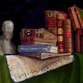 Barry Williamson - The philosophers table
