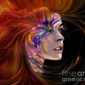 Jaimy Mokos - THE PHOENIX  fire flames and rebirth