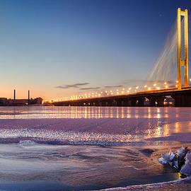 Sergey Ryzhkov - The Pivdennyi Bridge. Kiev