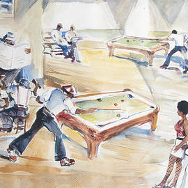 Harold Ellison - The Pool Hall