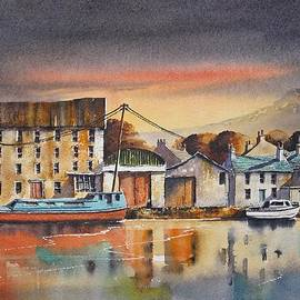 Roland Byrne - The Quay At Graiguenamanagh