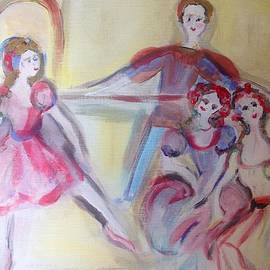 Judith Desrosiers - The Rehearsal of the ballet