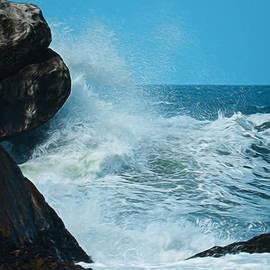 Ernie Echols - The Restless Sea Digital Art