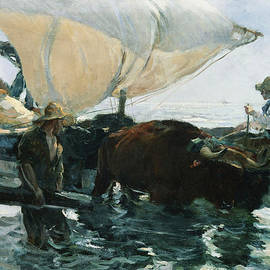Joaquin Sorolla y Bastida - The Return from Fishing