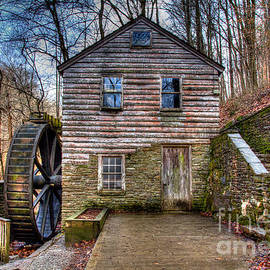Douglas Stucky - The Rice Gristmill Hdr