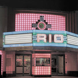 Lynn Sprowl - The Rio at Night