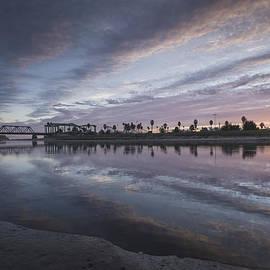 Bruce Frye - The River at Sundown