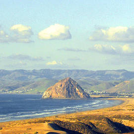 Barbara Snyder - The Rock at Morro Bay