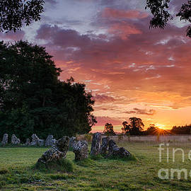 Tim Gainey - The Rollright Stones Sunrise
