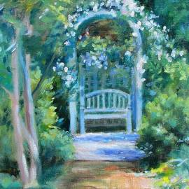 Bonnie Mason - The Rose Arbor- at Wharton Gardens