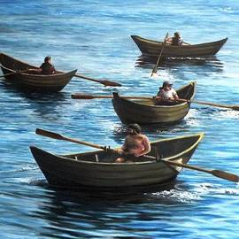 Eileen Patten Oliver - The Rowers