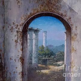 Sean Conlon - The ruins at Rhada Bavahn