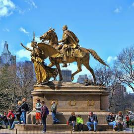 Allen Beatty - The sculpture of General William Tecumseh Sherman