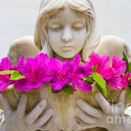 Dawna  Moore Photography - The Shell Girl Bonaventure Cemetery Savannah Georgia