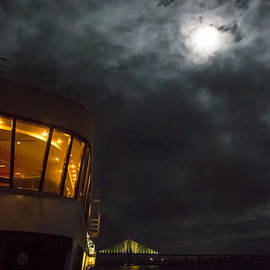 Rene Triay Photography - The Ship the Bridge and the Moon