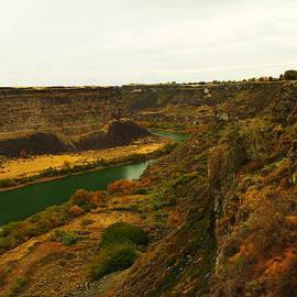 Jeff  Swan - The Snake River Near Twin Falls Idaho