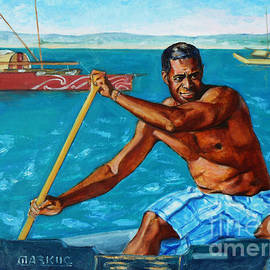 Xueling Zou - The Spirit of the Sea - Pacific Voyagers I
