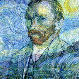 Jerome Stumphauzer - The Spirit of Vincent Van Gogh Famous Artists Series