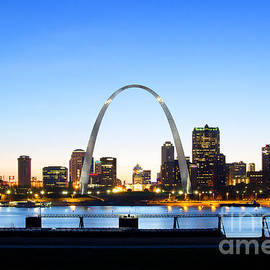 Cindy Tiefenbrunn - The St. Louis Skyline
