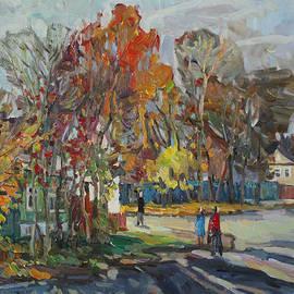 Juliya Zhukova - The sunny leaf fall