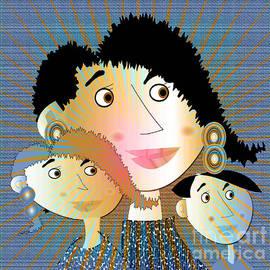 Iris Gelbart - The Sunshine family