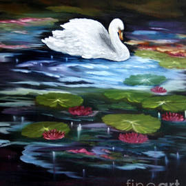 ILONA ANITA TIGGES - GOETZE  ART and Photography  - The Swan Lake